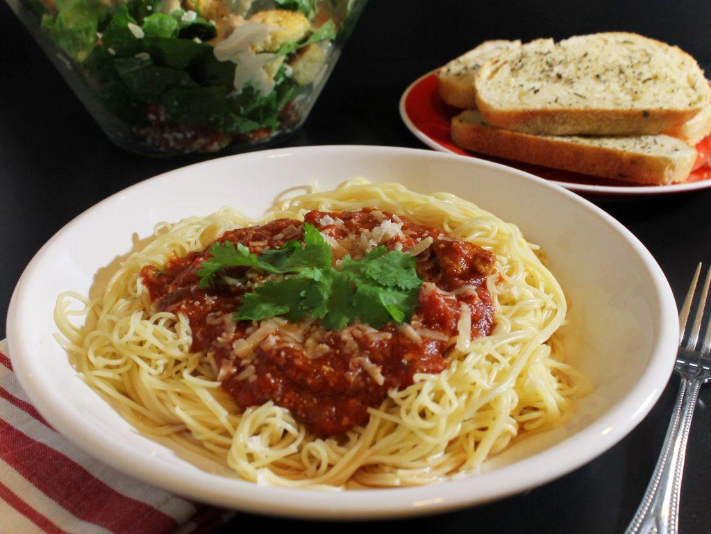 Perfectly Spicy Spaghetti Recipe