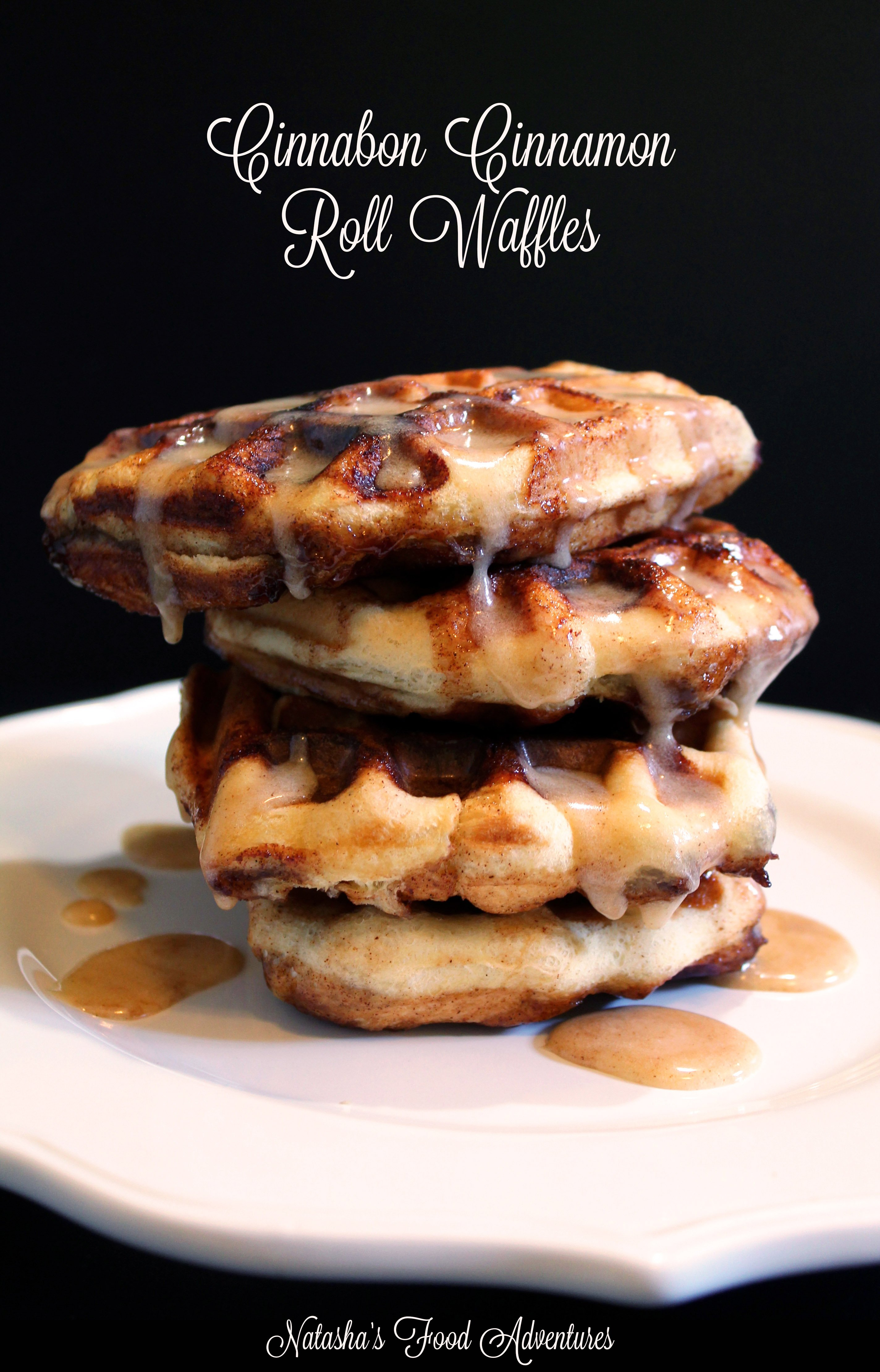 Cinnabon Cinnamon Roll Waffles
