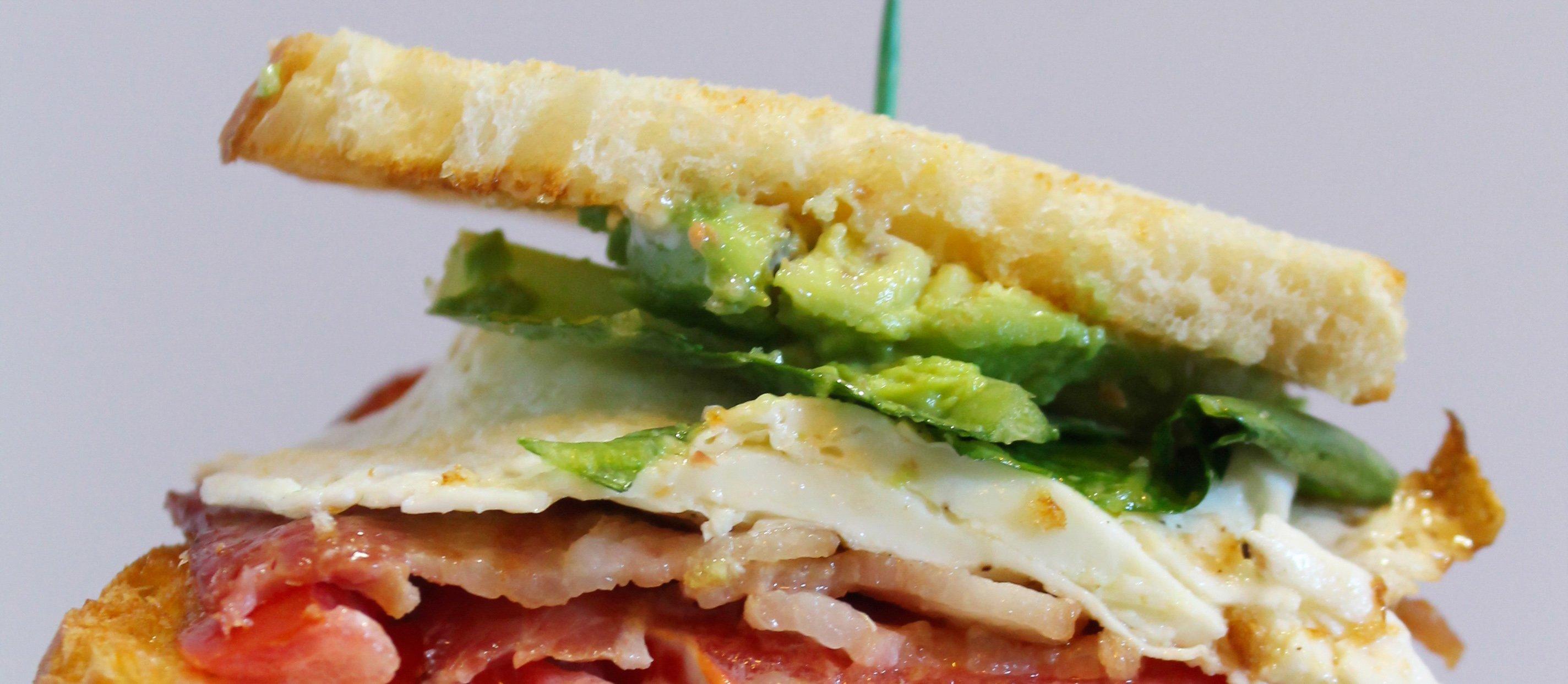 BLT Breakfast Sandwich