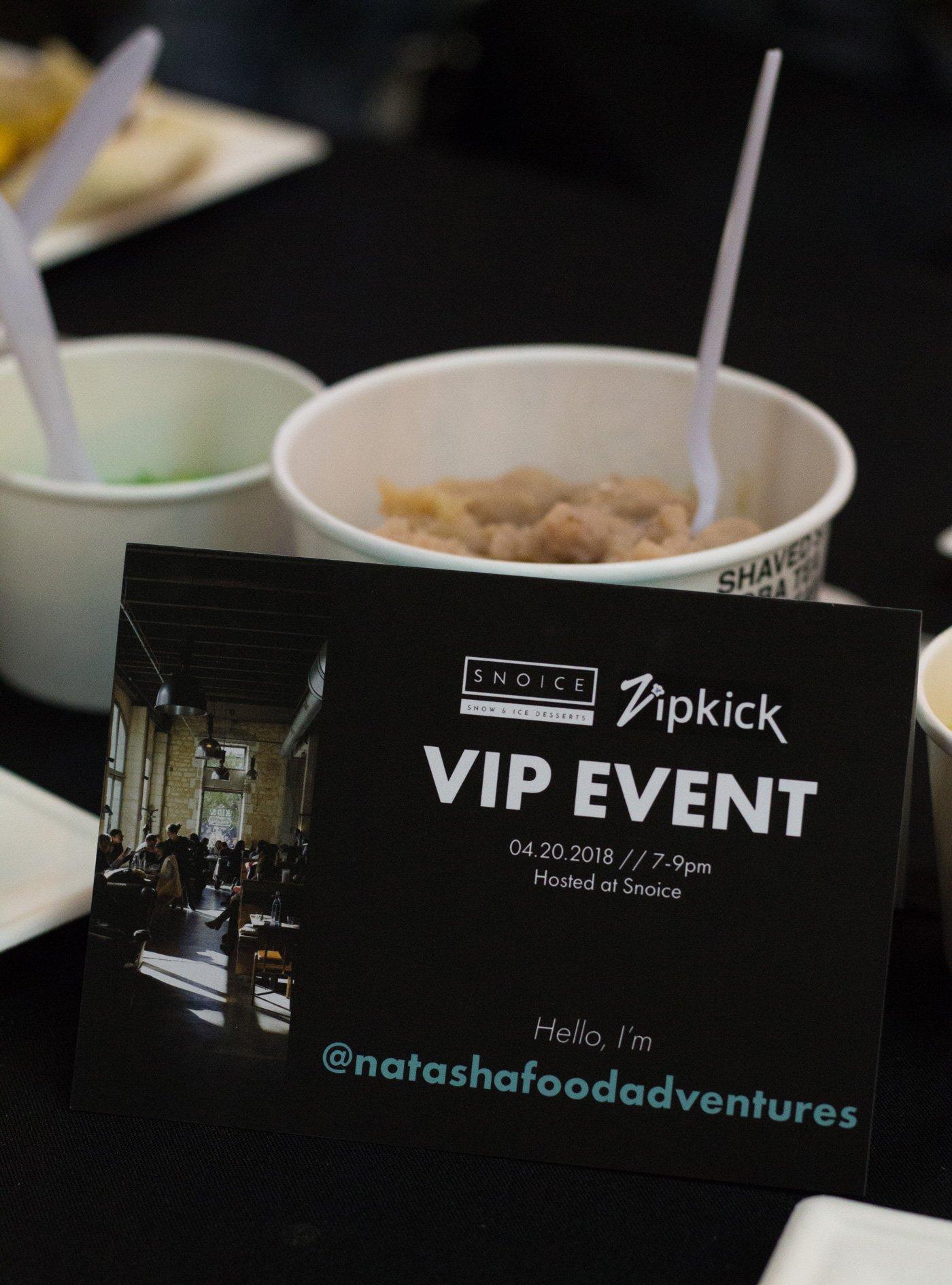 Snoice SD Zipkick VIP Event Recap