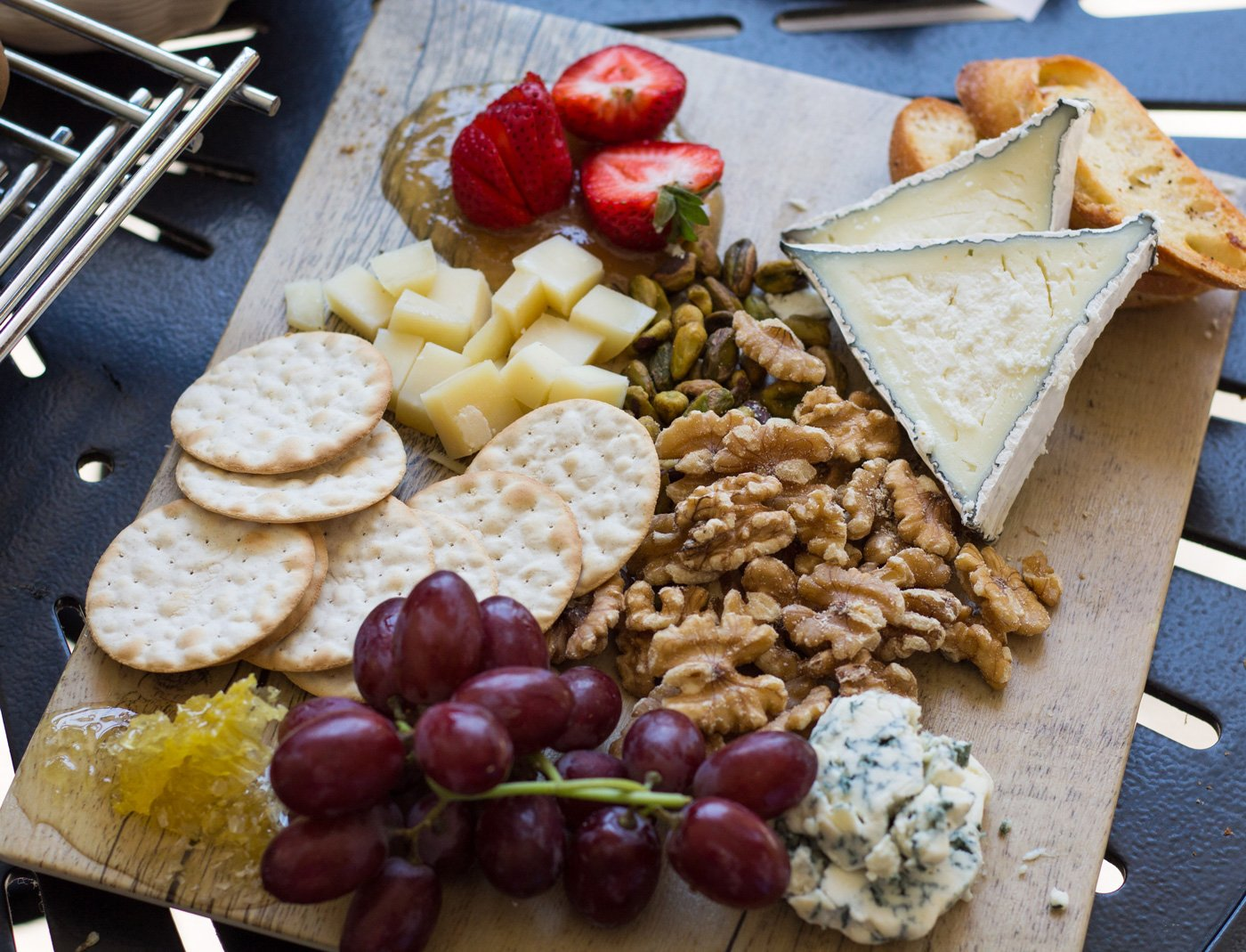The Glen Ivy Cheese Board