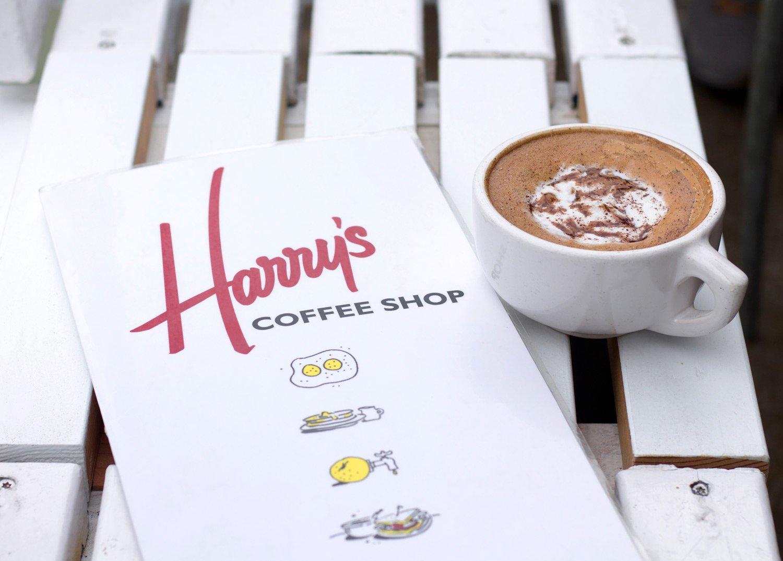 Harry's Coffee Shop Menu & Mocha