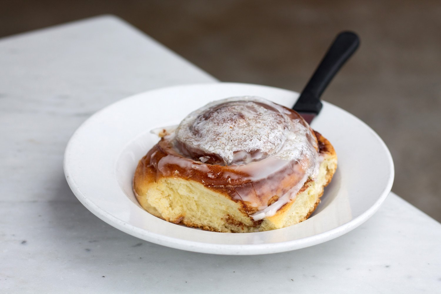 Cinnamon Roll from Harry's Coffee Shop