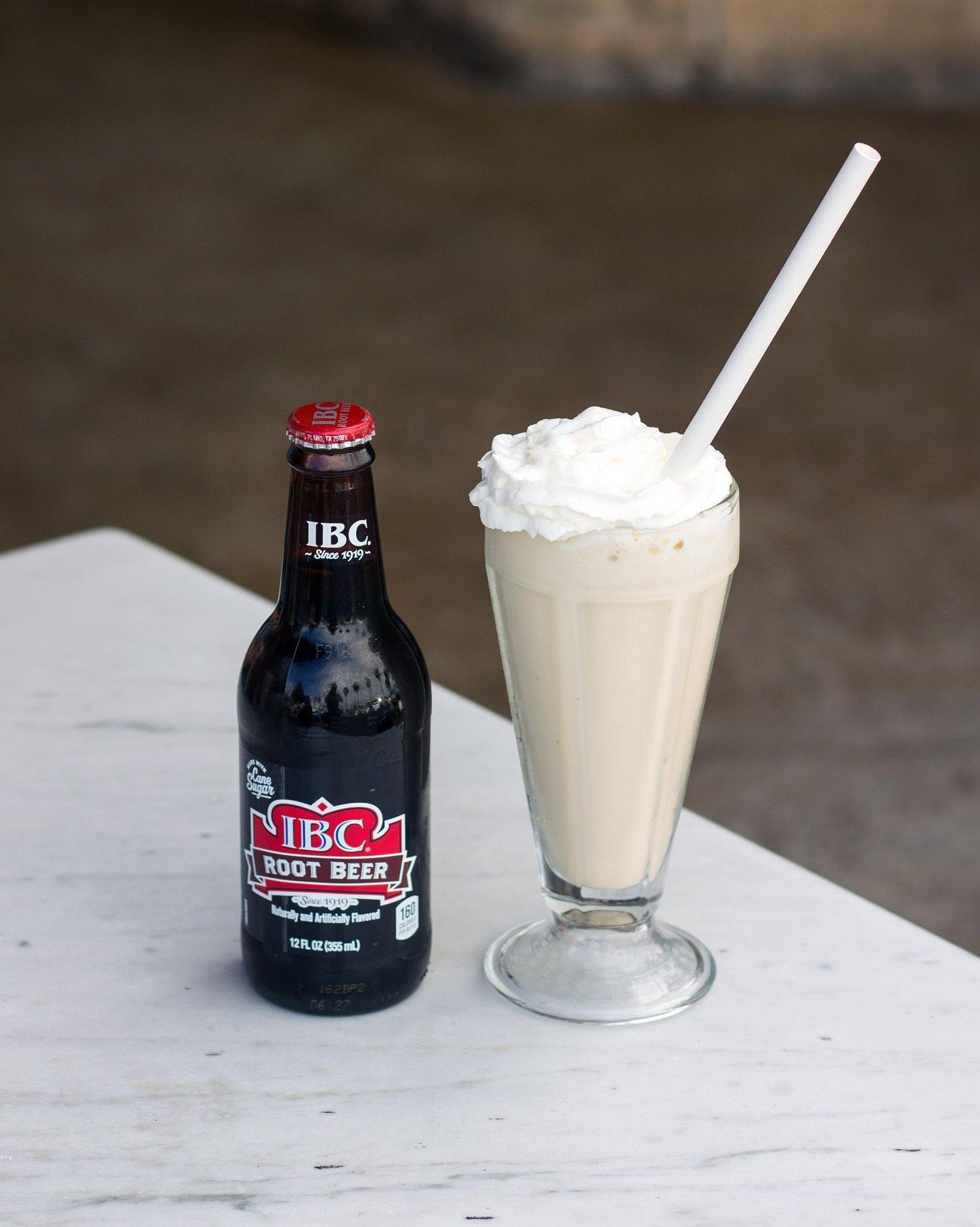 The Root Beer Milkshake from Harry's Coffee Shop