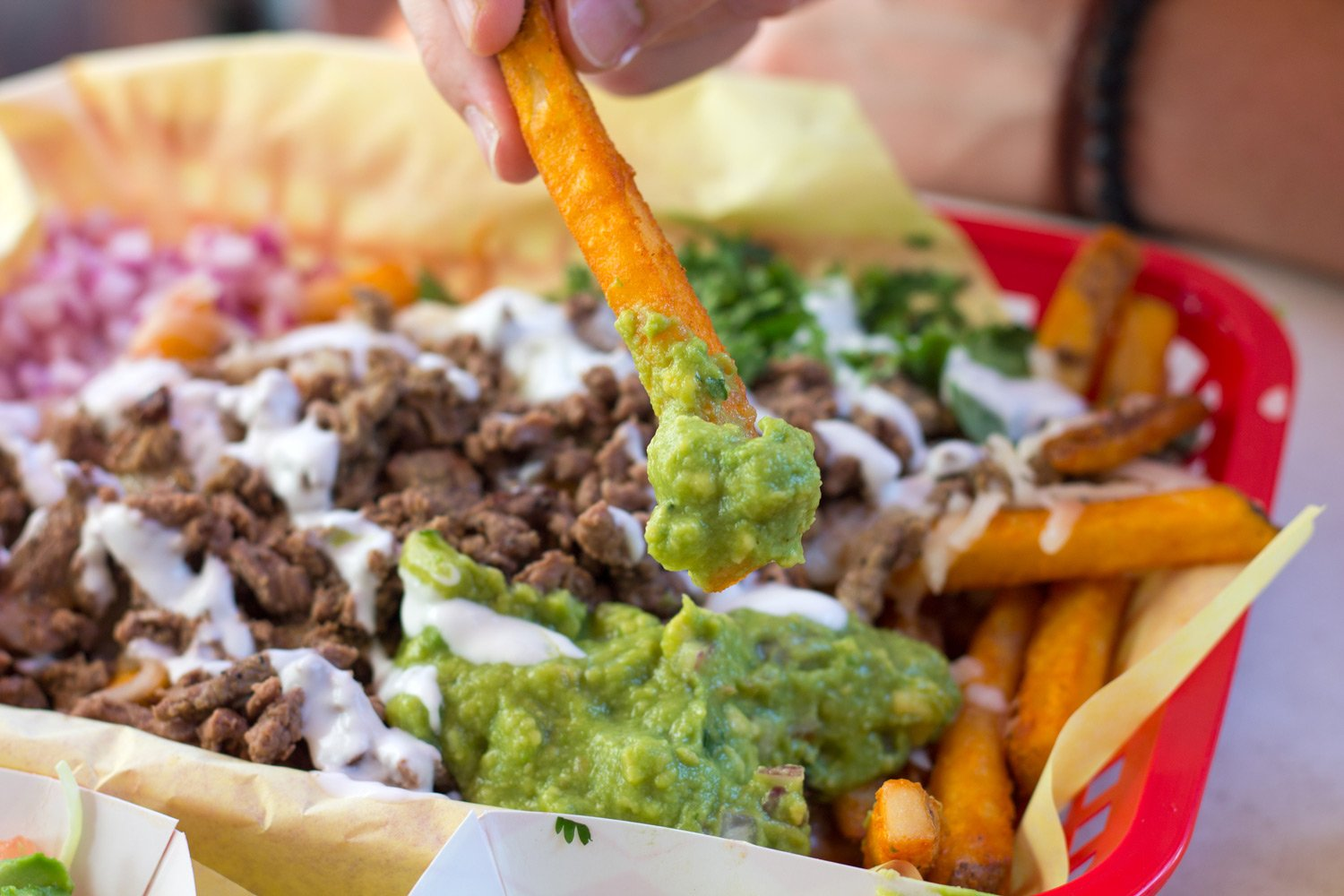 Carne Asada Fries from Mike's Taco Club