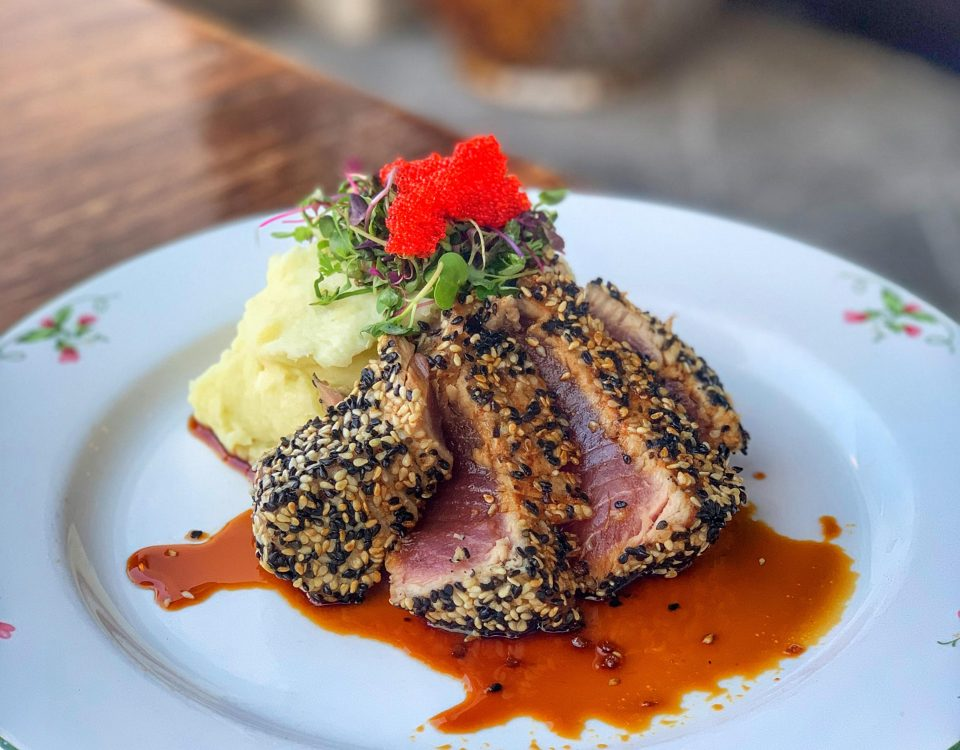 Ahi Tuna From Osetra Seafood & Steak