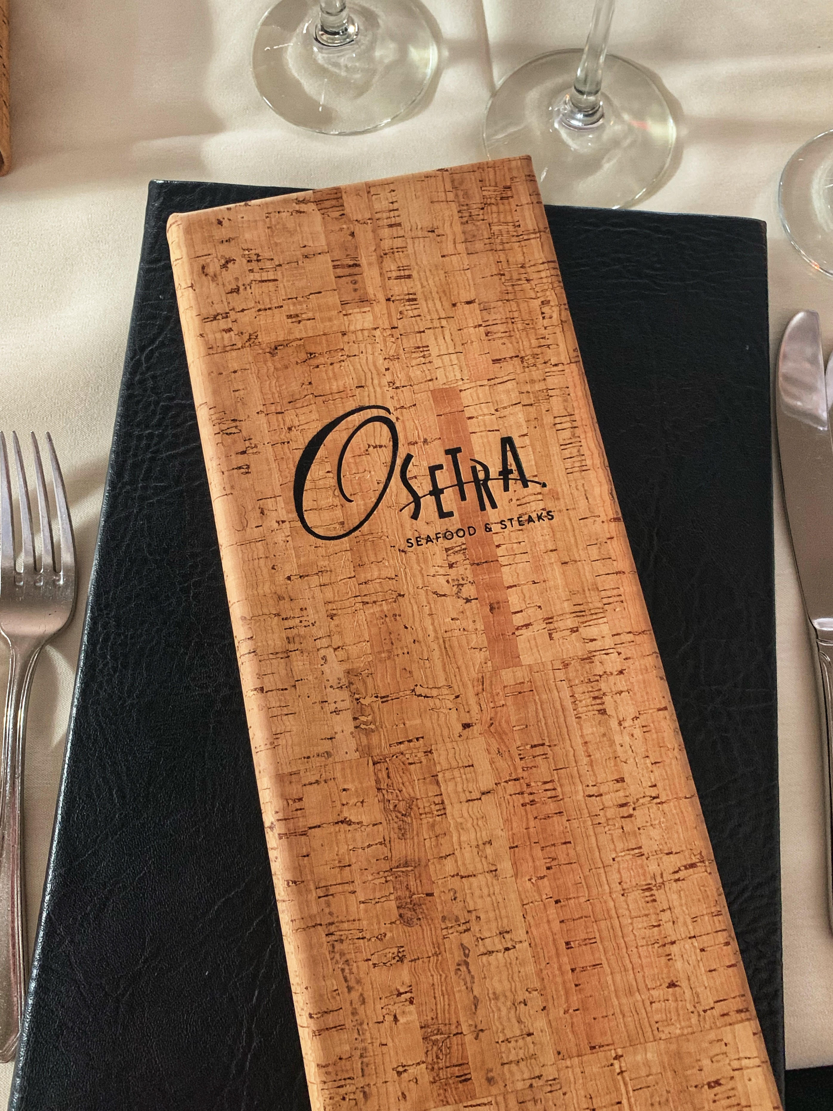 Osetra Seafood & Steak Gaslamp