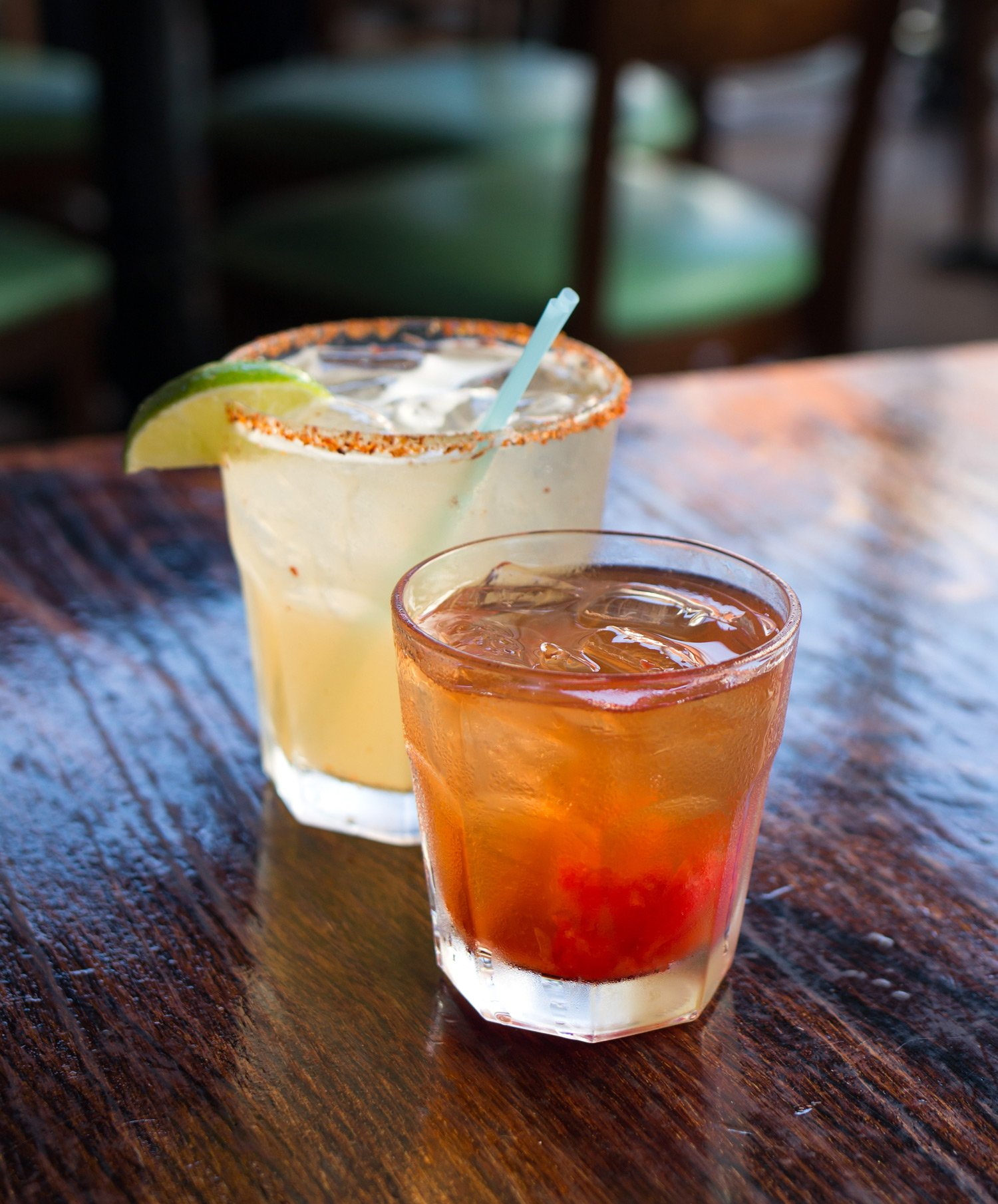 The Grapefruit Margarita and Old Fashioned
