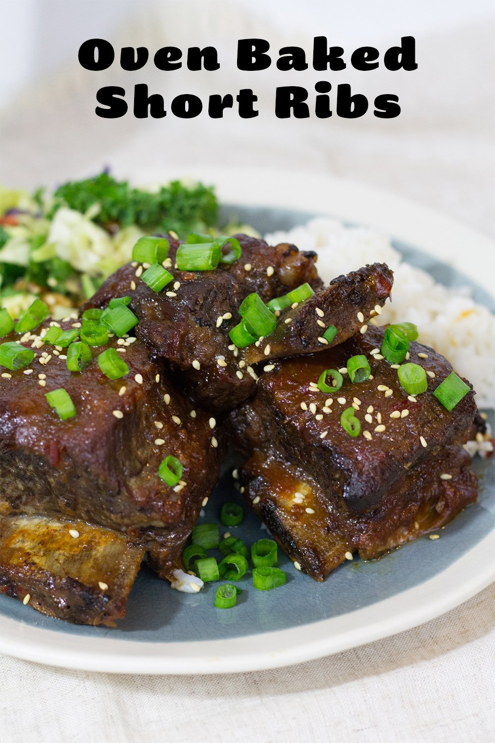 Oven Baked Short Ribs With Marion's Kitchen Marinade