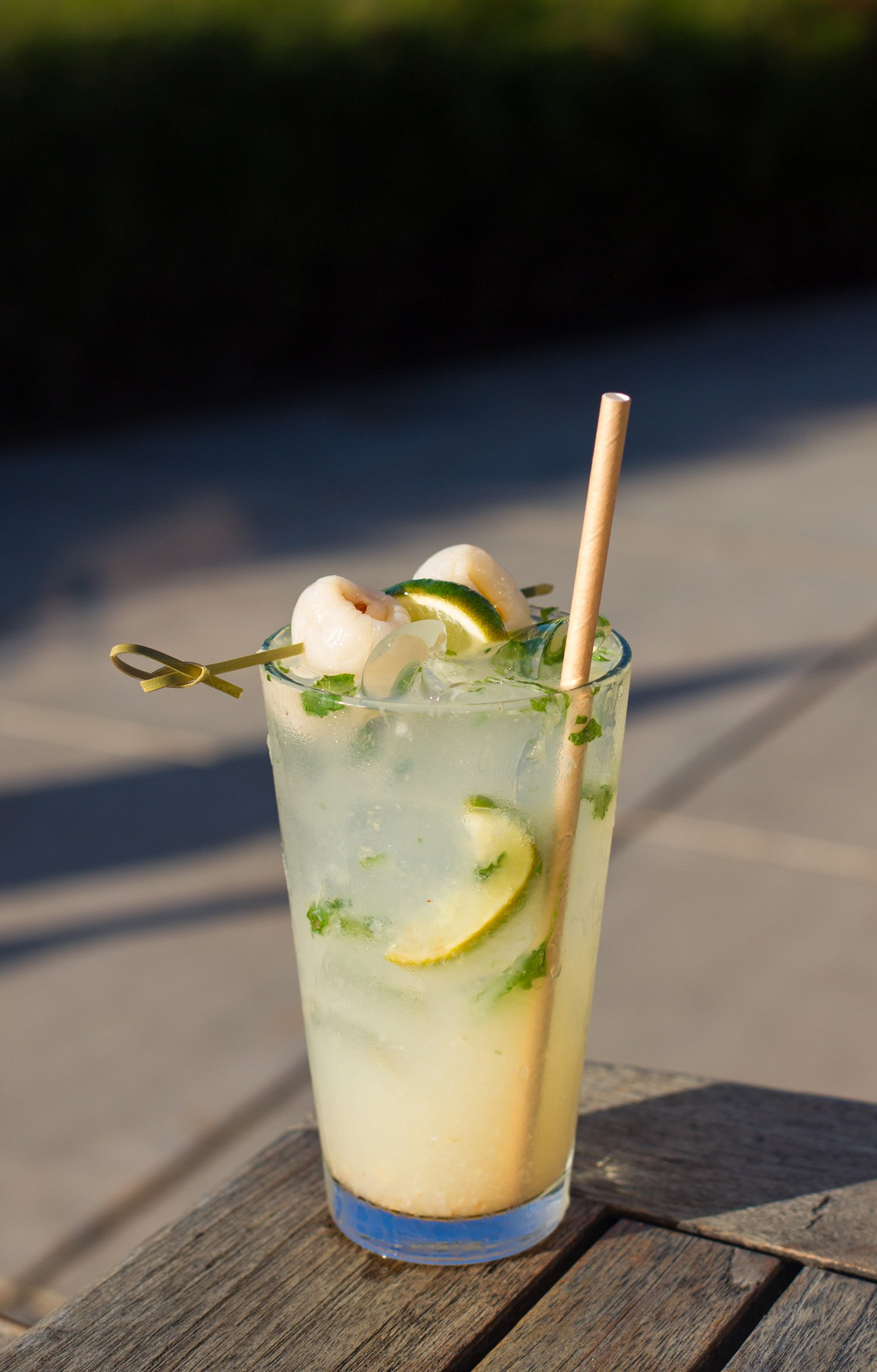 The Lychee Cooler Cocktail
