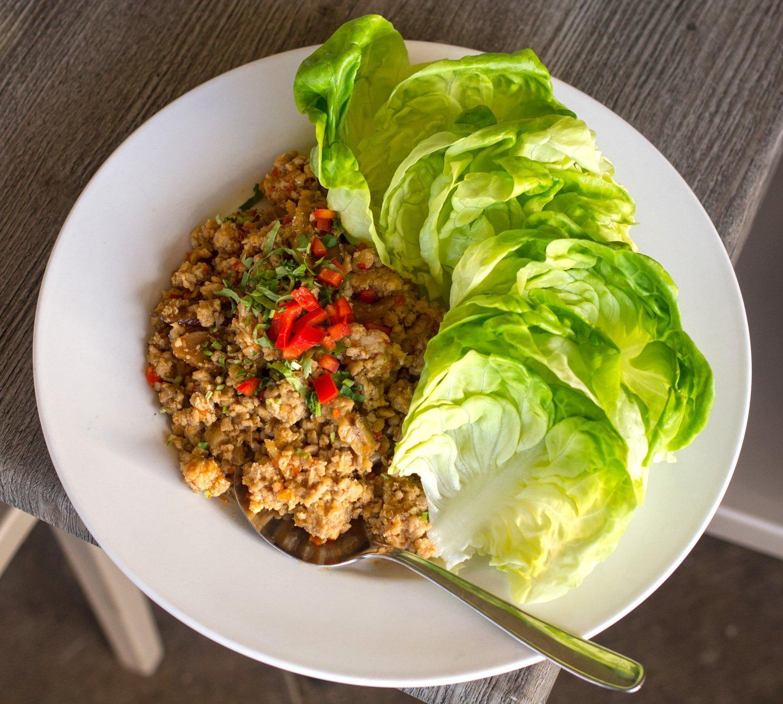 Cafe O'Lei Lettuce Wraps