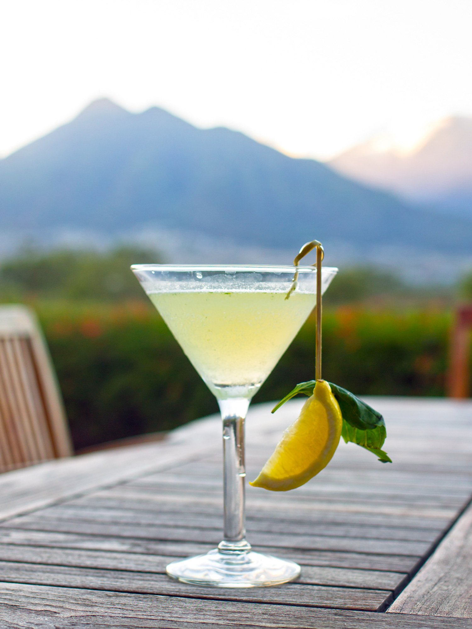 The Upcountry Maile Martini