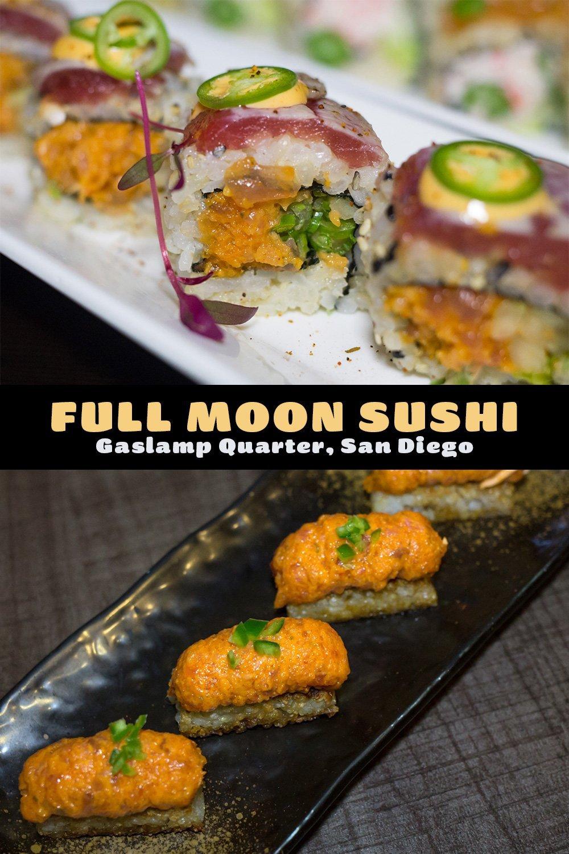 Full Moon Sushi San Diego