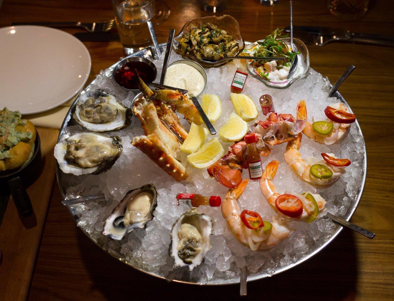 Medium Sized Seafood Platter