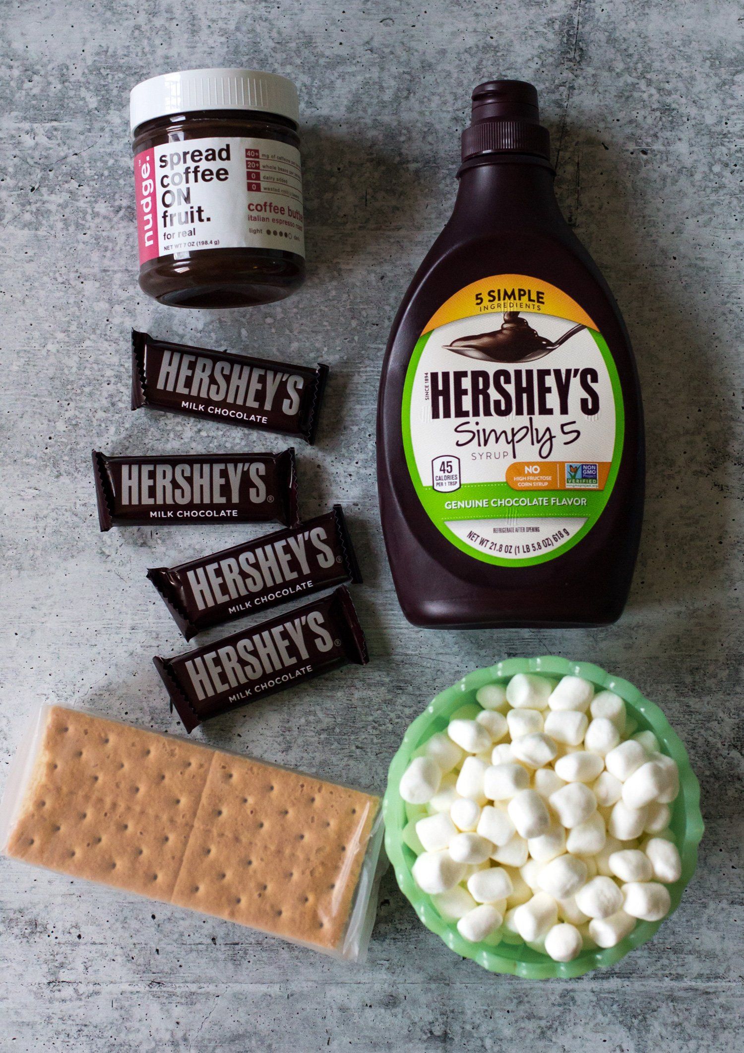 S'mores Pancake Ingredients